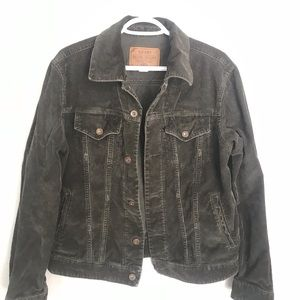 Old Navy corduroy trucker jacket (S)